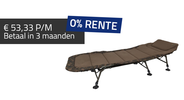 Fox fox-royale camouflage compact bedchair r1 stretcher
